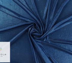 Dzianina Lurex z metalową nitką - niebieska