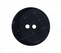 Guzik nr 5: czarny 28mm (3490)