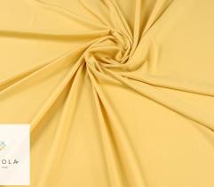 Tkanina gładka z elastanem - żółta
