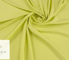 Tkanina gładka z elastanem - limonka