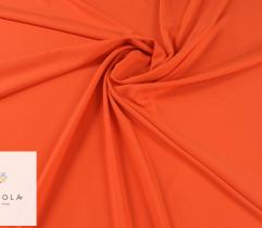 Tkanina gładka z elastanem - pomarańczowa