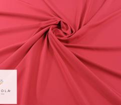 Tkanina gładka z elastanem - czerwona