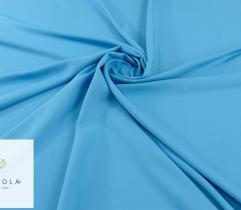 Tkanina gładka z elastanem - niebieska