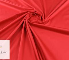 Tkanina bawełna satyna - czerwona
