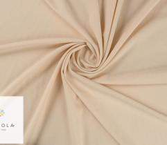 Tkanina gofrowana - beżowa