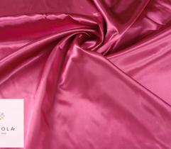 Tkanina dekoracyjna atłasowa - fuksja