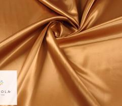 Tkanina dekoracyjna atłasowa - camel