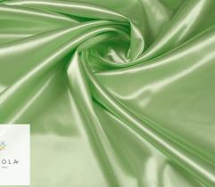 Tkanina dekoracyjna atłasowa - zieleń jasna