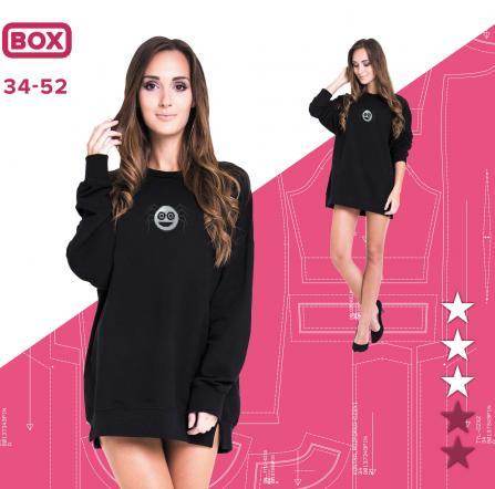 7dffc87a Bluza Natalia 34-52 wydruk wielkoformatowy i surowce | Pinsola