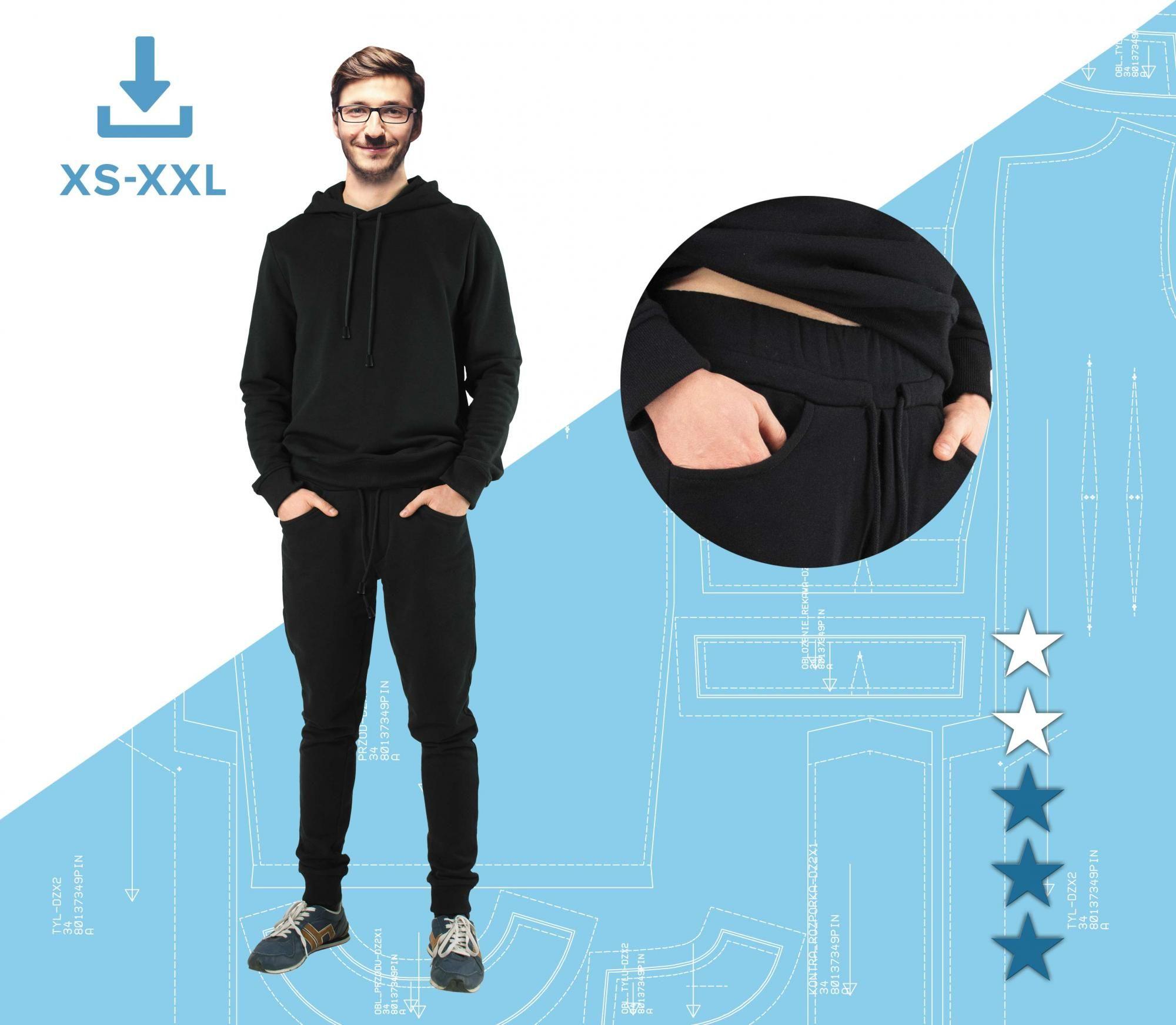 54b511c3 Spodnie dresowe Fabian XS-XXL Plik A4 | Pinsola