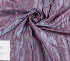 Tkanina tafta kreszowana - fioletowa