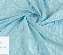 Woven fabric Crease Taffeta – blue
