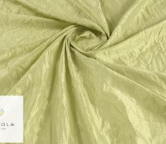 Woven fabric Crease Taffeta – light green