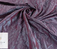Woven fabric Crease Shot Taffeta – violet