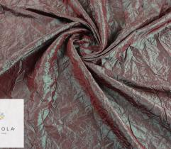 Woven fabric Crease Shot Taffeta – green