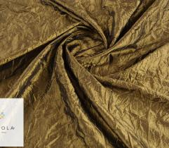 Woven fabric Crease Shot Taffeta – olive green