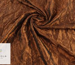 Woven fabric Crease Shot Taffeta – brown