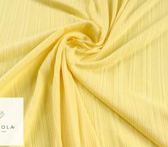 Rib Knit Fabric Viscose Yellow 90cm