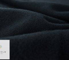 Dresówka drapana czarna