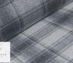 Wool  - Vichy grey check