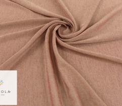 Tkanina dekoracyjna - odcienie rudego
