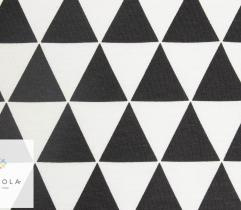 Jersey single – black and white triangles