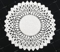 Serwetka 38cm - biała
