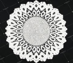 Serwetka 30cm łezki - biała