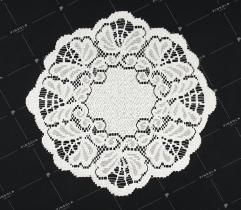 Serwetka 30cm kielich - biała