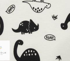 Bawełna T-shirt - dinozaury