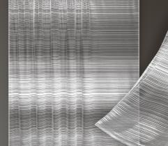Firana metrażowa - paski 250 cm