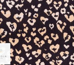 Woven Viscose Fabric - Leopard love