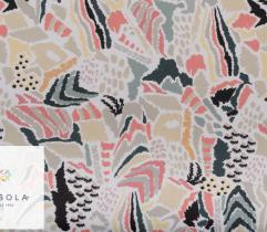 Woven Viscose Fabric - light patterns