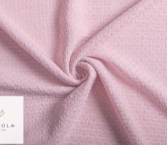 Tkanina Chanelka - brudny róż