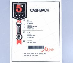 Naszywka - cashback
