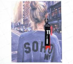 Sew-on badge - soho