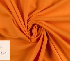 Dzianina jersey single - pomarańczowa