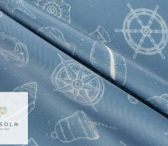 Woven Polyester Fabric 260 g - marine