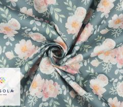 Woven Garden Fabric – Subdued Meadow