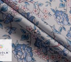 Tkanina ogrodowa - błękitny ogród
