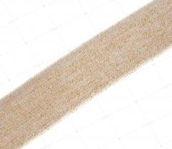 Ściągacz 3 cm - złoty brokat