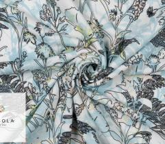 Knitted Fabric Oxford Akademik - blue meadow