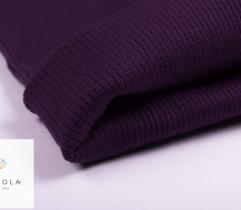 Rib Knit Fabric Tubular 60 cm – purple