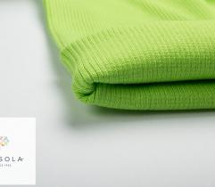 Rib Knit Fabric Tubular 60 cm – lime green
