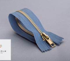 Metal Closed-end Zipper 16 cm - Blue