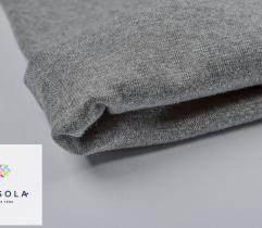 Rib Knit Fabric Tubular 70 cm – Grey