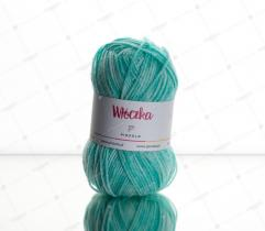 Yarn 50 g Antipilling – Minty Green Melange