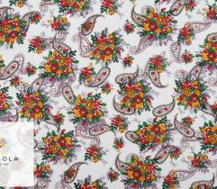 Woven Viscose Fabric - Summer Paisley
