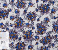 Woven Viscose Fabric - Winter Paisley