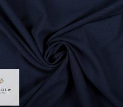 Woven Crepe Fabric – Dark Blue